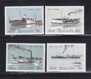 New Zealand 795-798 Set MNH Ships