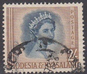 Rhodesia and Nyasaland 151 Used CV $5.00
