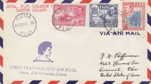 1941, 1st Flt., Suva, Fiji to Canton Islands (32592)