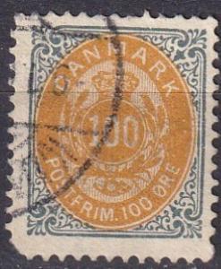 Denmark #52 Used  CV $35.00 (A19315)