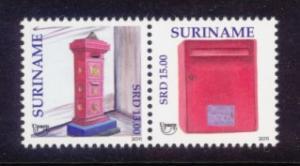 Suriname Sc# 1426 MNH UPAEP 2011 (Pair)