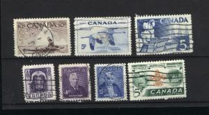 Canada  351, 352, 353, 355, 356, 357,358  used PD 1955