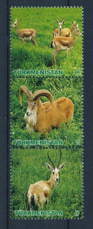 [27846] Turkmenistan 2009 Wild Animals Mammals Gazelle MNH