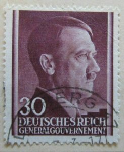 A6P41F4 Germany Occupation of Poland 1941 30g used