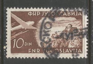 YUGOSLAVIA C38 VFU AIRPLANE 462D-1