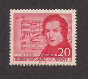 GERMANY - DDR SC# 304 VF MNH 1956