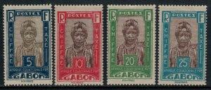 Gabon #J12-5*  CV $4.20