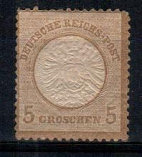 Germany Scott 6 Mint hinged (Catalog Value $875.00)