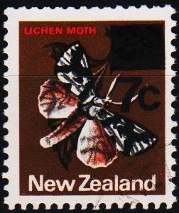 New Zealand. 1977 7c on 3c S.G.1143 Fine Used