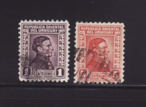 Uruguay 351, 356 U José Gervasio Artigas, National Hero