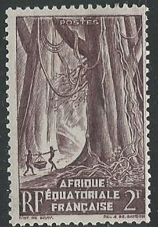 French Equatorial Africa  + Scott # 175 - MH