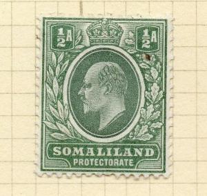 Somaliland Protectorate 1904 Early Issue Fine Mint Hinged 1/2a. 297788