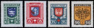 Estonia Scott B28-31 (1936) Mint H VF Complete Set, CV $28.50