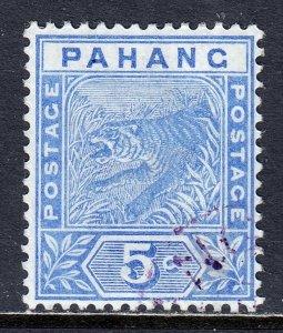 Malaya (Pahang) - Scott #13 - Used/CTO - SCV $47