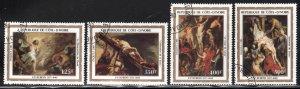 Ivory Coast # 674-78 ~ Short Set 4 of 5 ~ CTO, HMR, minor GD