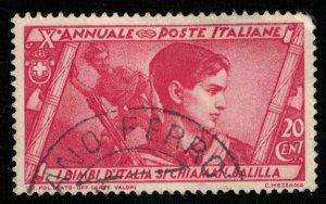 1932 Italy 20c SC #293 (T-7906)