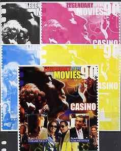Turkmenistan 2002 Legendary Movies of the '90's - Casino,...
