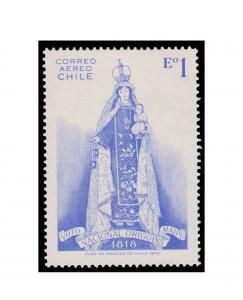 CHILE STAMP YEAR 1970. SCOTT # C305. MINT