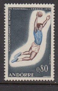Andorra 195 Field Ball MNH