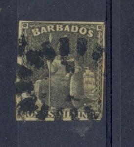 Barbados Scott 9 Used (Catalog Value $85.00)