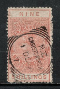 New Zealand #AR11 Used Fine - Very Fine With Ideal Cancel
