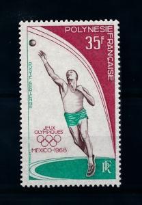 [71591] French Polynesia 1968 Olympic Games Mexico Athletics Shot Put  MNH