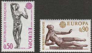 France, #1399-1400  MH From 1974
