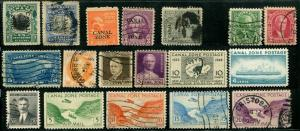 Panama CANAL ZONE  Stamps Postage Collection USED