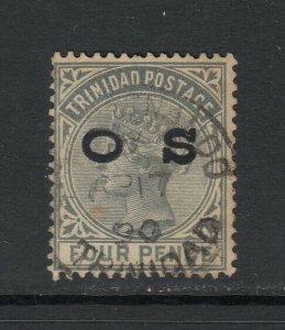 Trinidad, Scott O4 (SG O4), used