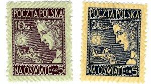Poland SC B26-B27 Mint VF SCV$13.75...Popular Country!