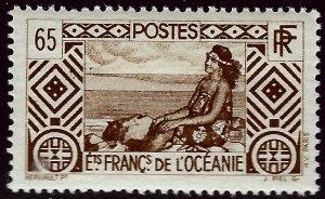 French Polynesia Sc #98 MNH VF...Polynesia is Unique!