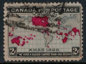 Canada #85  CV $9.00  World's first Christmas stamp