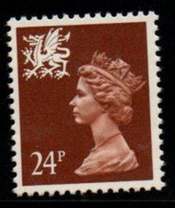 GB Wales SC WMMH46 1992 24p pf 13 1/2 x 14  Machin Head stamp mint  NH