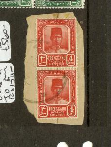 MALAYA JAPANESE OCCUPATION TRENGGANU (P1912B) 4C UNOVERPRINTED USED OCCUPATION P