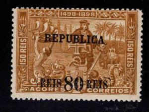 Azores Scott 146  Vasco da Gama  surcharged overprint stamp