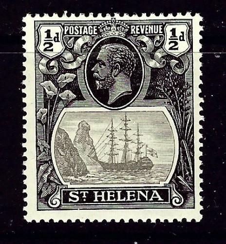 St Helena 79 Hinged 1922 issue