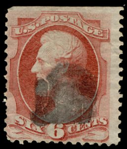 US #148 F/VF nice canceled,  super fresh color and nicely centered stamp, bid...