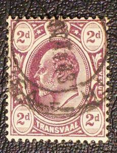 Transvaal Scott #283 used