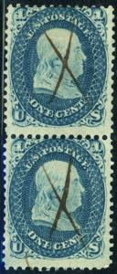 U.S. #63 Used Pair