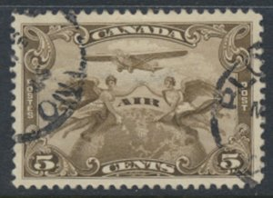 Canada  SG 274  Used  AIR  SC# C1   see detail and scans