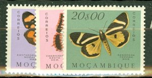 P: Mozambique 364-383 mint CV $69.45; scan shows only a few