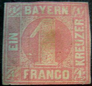 BAVARIA 4 Unused FVF Fresh Color
