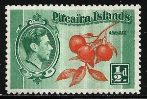 Pitcairn Islands 1940 Scott# 1 MH