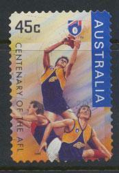 Australia SG 1610  Used  Self Adhesive - Australian Rules