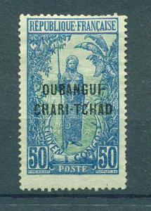 Ubangi-Shari sc# 18 mng cat value $1.00