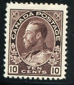 Canada #116  Mint  F-VF