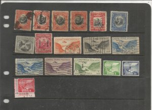 CANAL ZONE COLLECTION, BOTH MINT AN USED