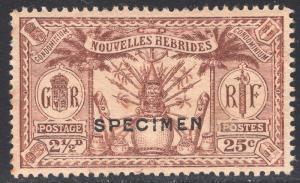 NEW HEBRIDES-FRENCH SCOTT 47