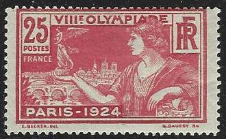 France #199 Mint Hinged Single (H6)