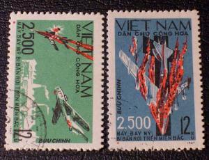 Viet Nam (Democratic Republic) Scott #474-475 used